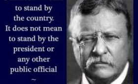 O falsă dovadă  de patriotism