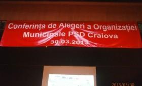 Alegeri spumoase la PSD Craiova