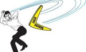 Lovituri de imagine cu efect de boomerang