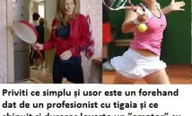 Irina Begu nu vrea la tigaie
