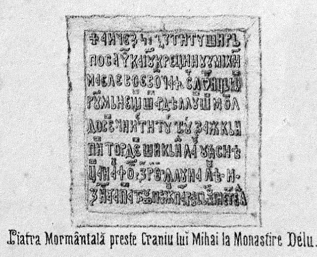 9. Piatra tombala Mihai Viteazul