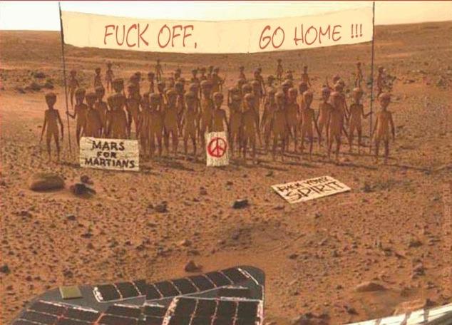 Cine a stricat vehicolul de pe Marte