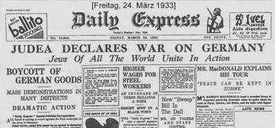 Declaratia de razboi a evreilor
