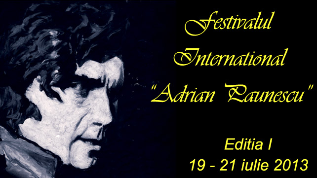 "Festivalul International ""Adrian Paunescu"""