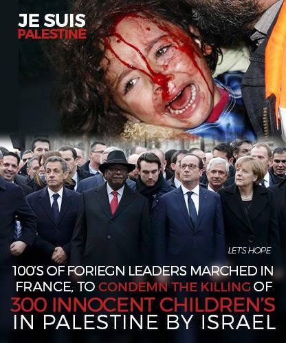 Anti-Islamism şi/sau anti-Semitism Mars-de-solidaritate