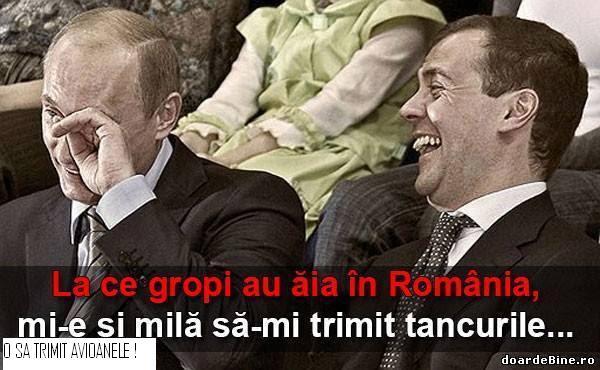 Putin si Romania