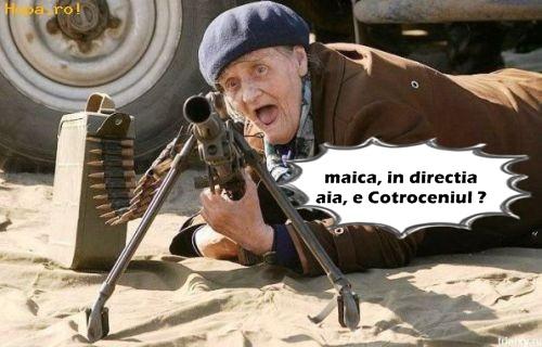 baba si mitraliera