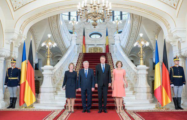 vizita preşedintelui german la Cotroceni